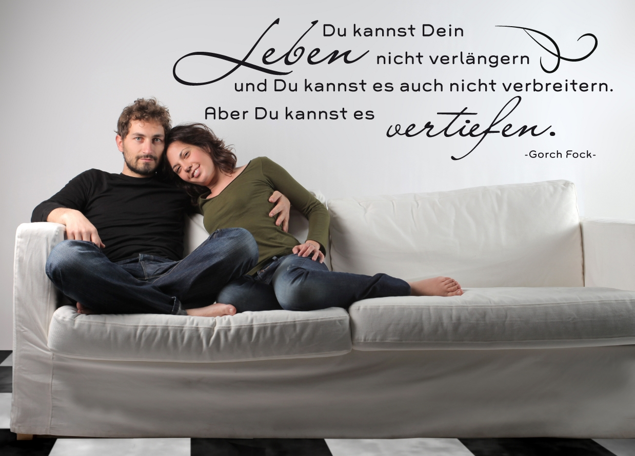 preiswerte wandtattoos wandtattoo zitate von wandtattoo wandtattoos. Black Bedroom Furniture Sets. Home Design Ideas